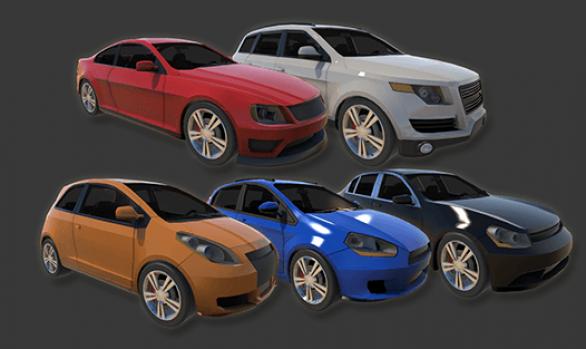 Vehicle Pack: Vol. 1