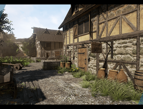 Product Release: Medieval Village