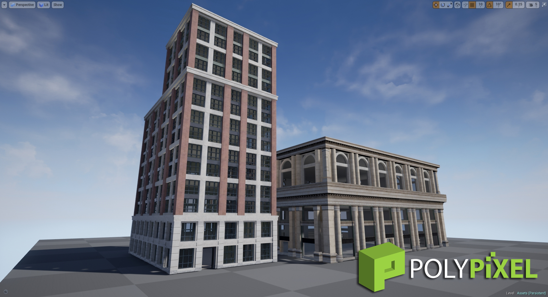 3D Models Urban City Update – 4