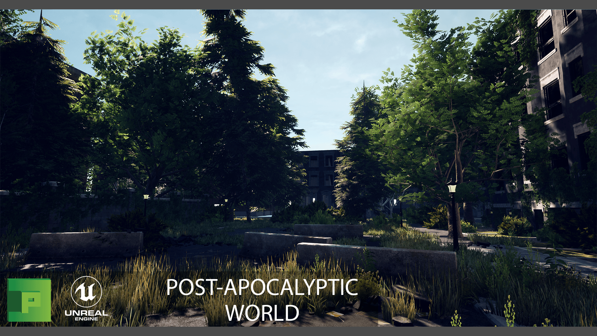 Post Apocalyptic World 3D Environment Pack | PolyPixel