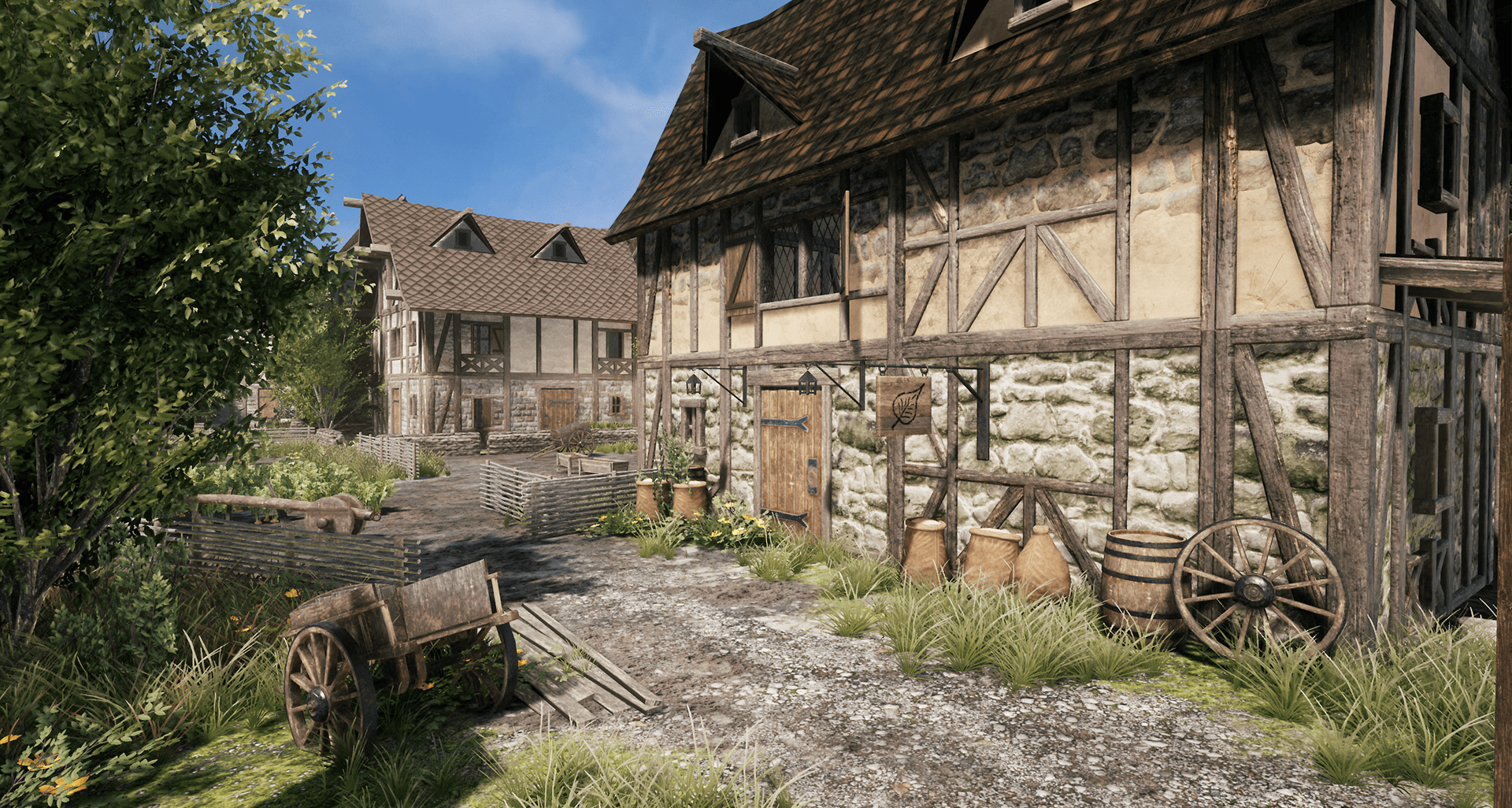 Medieval Village [Unreal & Unity Product]