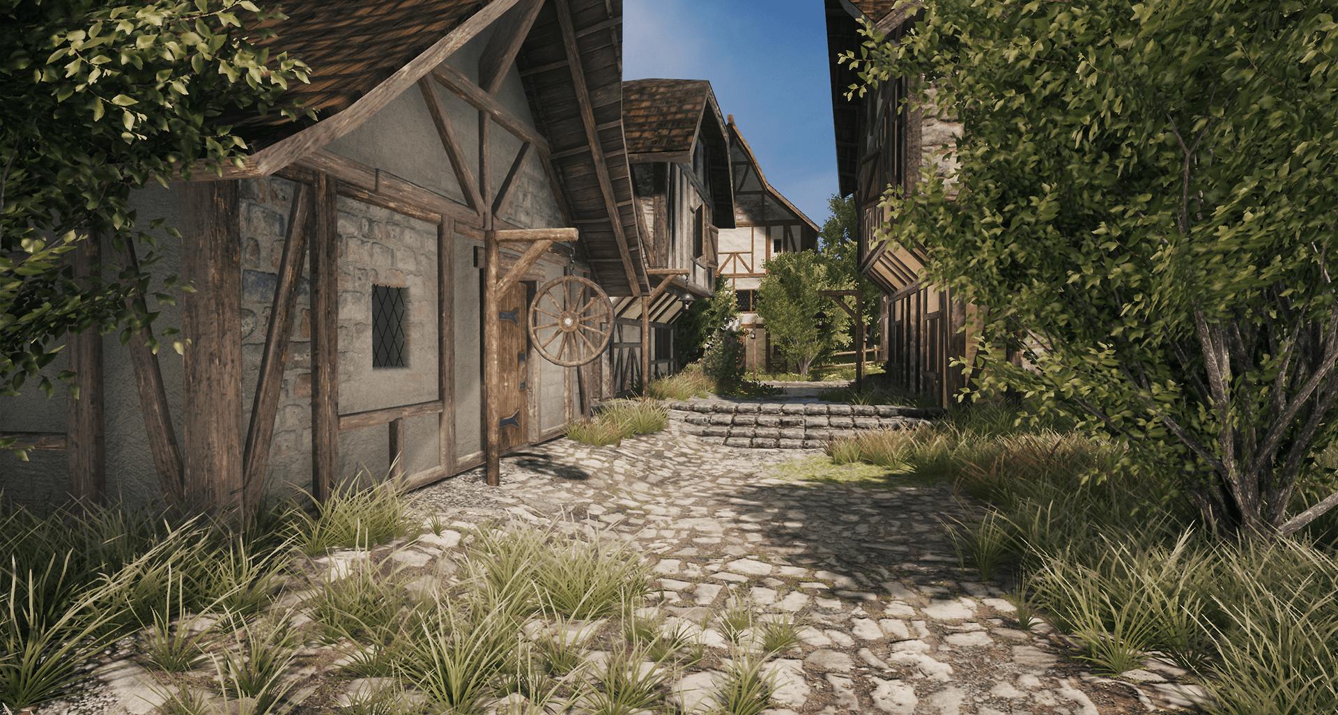 Medieval Village [Unreal & Unity Product]