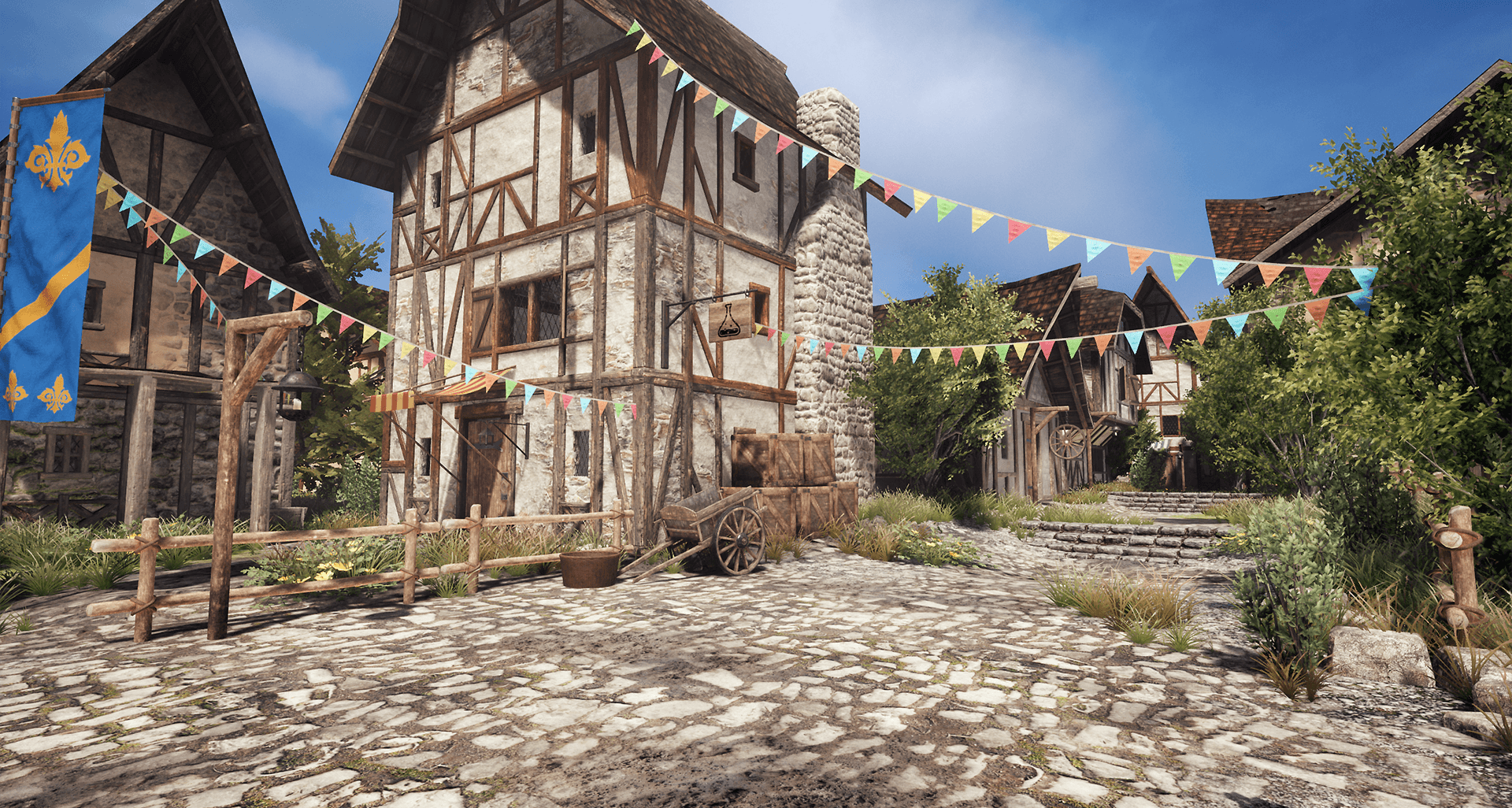 medieval village unreal amp unity product